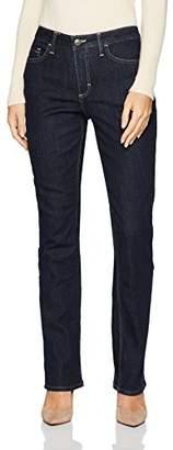 Lee Indigo Women's Fleece Lined Slim Straight Leg Jean
