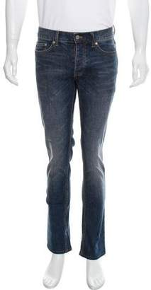 BLK DNM Faded Skinny Jeans