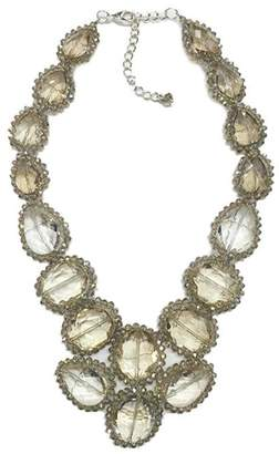 Ananda Crystal Statement Necklace