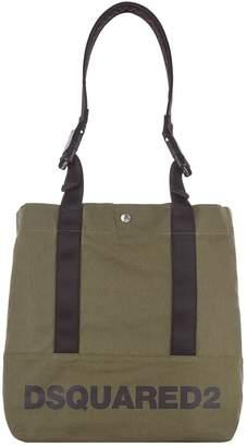 DSQUARED2 Detachable Handle Logo Tote Bag