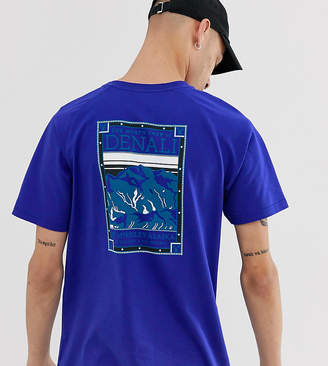 The North Face North Faces t-shirt in blue Exclusive at ASOS