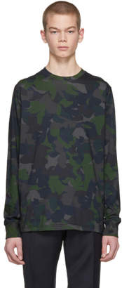 Paul Smith Green Camo Sweatshirt