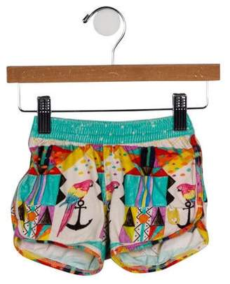 Munster Girls' Printed Mini Shorts