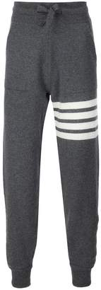 Thom Browne stripe detail sweatpants