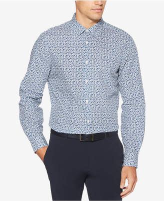 Perry Ellis Men's Slim-Fit Floral-Print Shirt