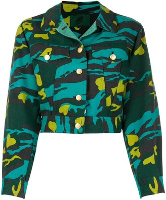 Jean Paul Gaultier Pre-Owned 1990s camouflage jacket