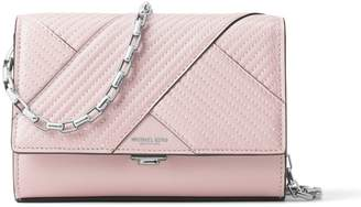 Michael Kors Chevron Quilted Leather Crossbody