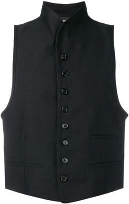 Ann Demeulemeester high collar waistcoat
