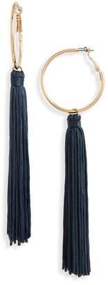 Panacea Tassel Hoop Earrings