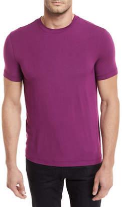 Giorgio Armani Solid Jersey Crewneck T-Shirt