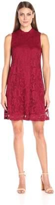 Tiana B T I A N A B. Women's Floral Lace A-Line Dress Sleeveless