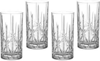 Marquis by Waterford Sparkle Barware, Set of 4 Highball Glasses