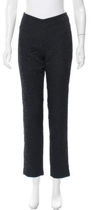 Amen Embroidered Straight-Leg Pants w/ Tags