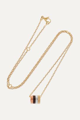 Boucheron Quatre Classique 18-karat Gold Diamond Necklace