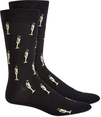 Bar III Men Printed Socks