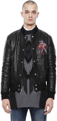 Diesel Black Gold Diesel Leather jackets BGPDX - Black - 44