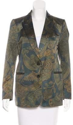 Dries Van Noten Silk-Blend Blazer