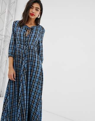 Max & Co. midaxi dress in check