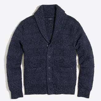 J.Crew Cotton shawl-collar cardigan sweater