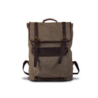 EAZO - Extra Large Canvas Backpack Green