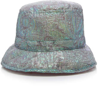 Anna Sui Mother of Pearl Jacquard Hat