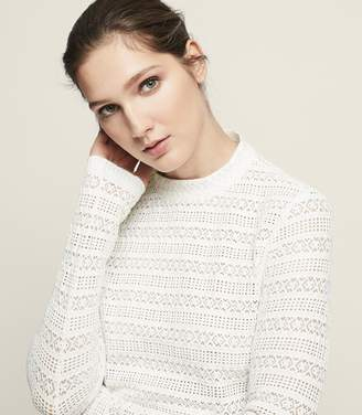 Reiss Tullulah Lace Top