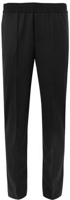 Neil Barrett Slim-Fit Tapered Stretch-Virgin Wool Trousers