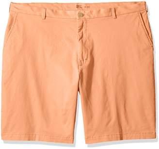 Izod Men's Big and Tall Flat Front Short