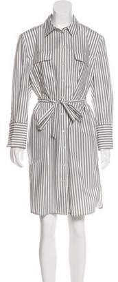 Equipment Striped Shirt Dress