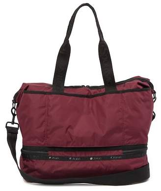 Le Sport Sac Dakota Medium Deluxe Nylon Overnight Bag