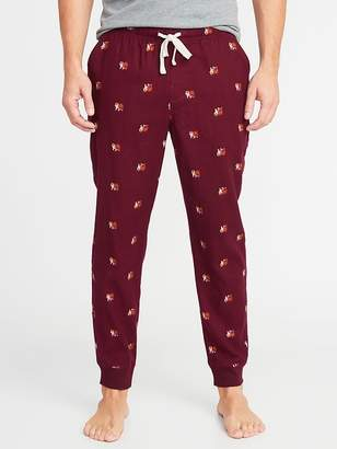 Old Navy Printed Flannel Joggers for Men