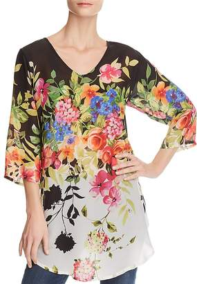 Johnny Was Betty Floral-Print Tunic