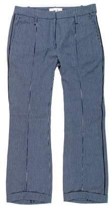 Faith Connexion Cropped Pinstripe Pants w/ Tags