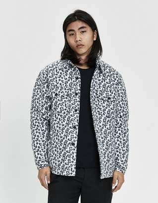 Noon Goons Compa Leopard Polar Button Up Shirt