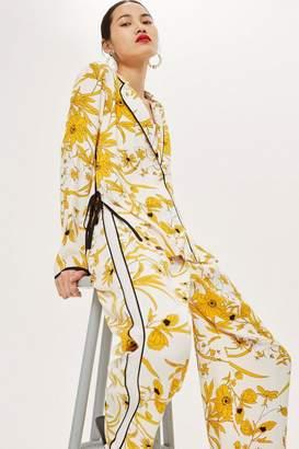 Topshop Floral Pyjama Trousers