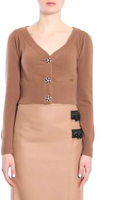 N°21 N.21 Short V Collar Cardigan