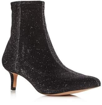 13d98b4145 Rebecca Minkoff Women's Sayres Glitter Kitten-Heel Booties
