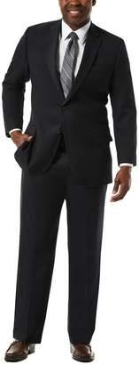 Haggar Big & Tall J.M. Premium Classic-Fit Sharkskin Stretch Suit Jacket