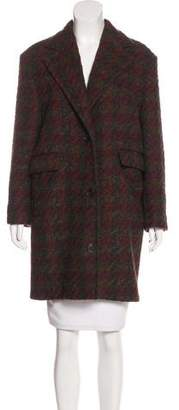 Billy Reid Notch-Lapel Short Coat