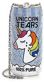 Judith Leiber Couture Women's Unicorn Tears Beverage Can Beaded Pillbox Clutch
