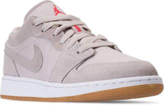 Nike Kids' Grade School Air Jordan 1 Low Basketball Shoes