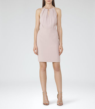 Odessa Chain Neck Detail Dress $340 thestylecure.com