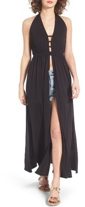 Women's Sun & Shadow Festival Halter Tunic $49 thestylecure.com