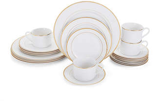 Mikasa Haley Gold 20-Pc. Dinnerware Set, Service for 4