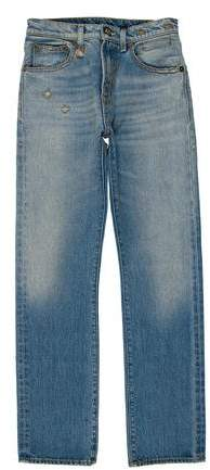 R13 2016 Mid-Rise Jeans w/ Tags