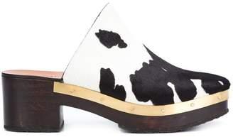 Rosetta Getty clog heel mules