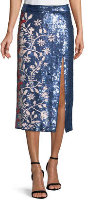 Tanya Taylor Greta Lace-Up Striped Knit Cardigan and Matching Items