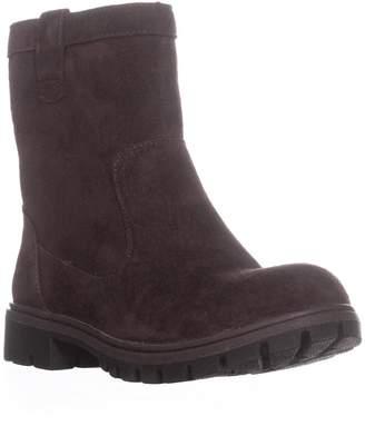 Børn B.O.C. Womens Bolsena Leather Closed Toe Ankle Fashion