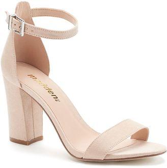 Madden NYC Brigid Women's High Heels $49.99 thestylecure.com
