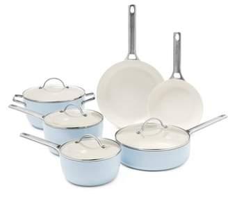 Green Pan Padova 10-Piece Ceramic Nonstick Cookware Set